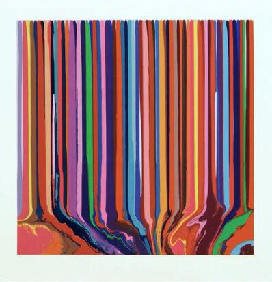 Ian Davenport, 'Pale Blue/Lilac Duplex Colorplan', 2013