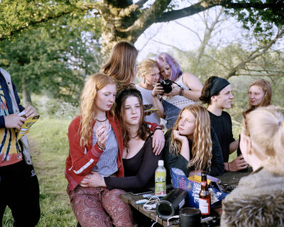 Sian Davey, 'Gathered by the River - 7pm', 2017