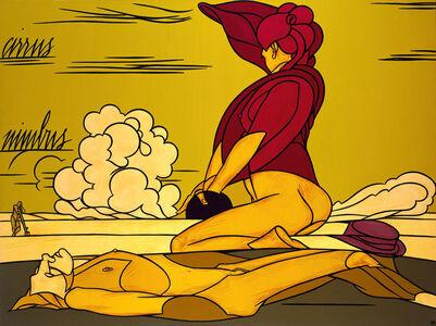 Valerio Adami, 'The Cloud (La Nuvola)', 1991