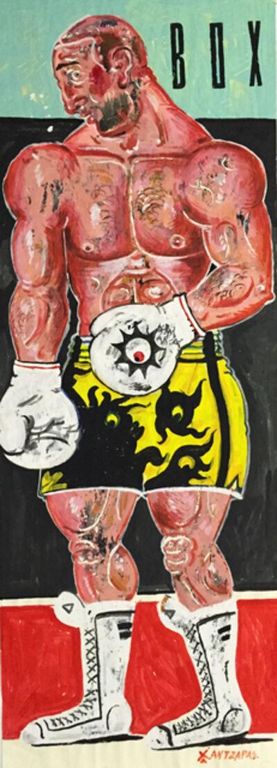 Apostolos Chantzaras, 'Kleomedes - Boxer #2', 2015