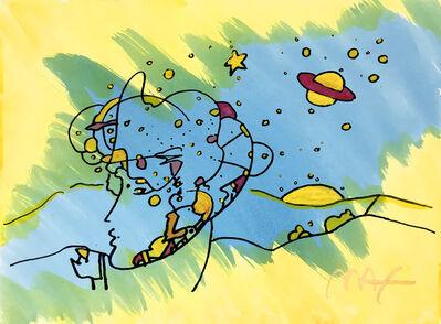 Peter Max, 'COSMIC PROFILE', ca. 1995