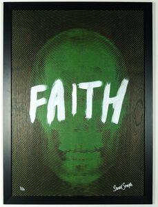 Stuart Semple, 'My Heaven is Inside (Green Faith)'