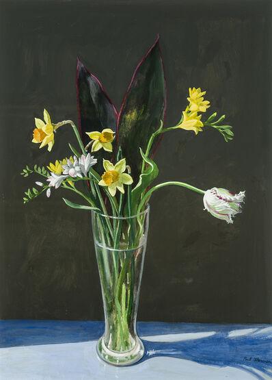 Paul Wonner, 'Study of Flowers ', 1987