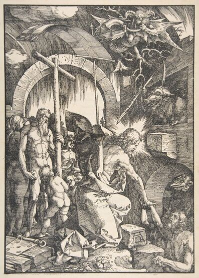 Albrecht Dürer, 'Christ in Limbo, from The Large Passion', 1471-1528