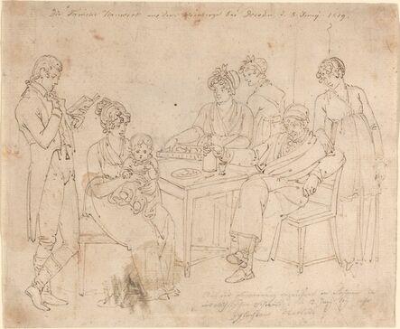 Johan Christian Dahl, 'The Nauwerk Family', 1819