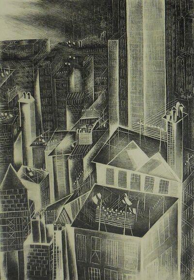 """Jolan Gross-Bettleheim, '""""New York Rooftops""""', 1940"""