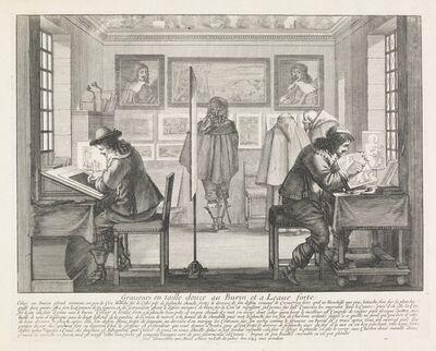 Abraham Bosse, 'Graveurs en taille douce au burin et a leaue forte', 1643
