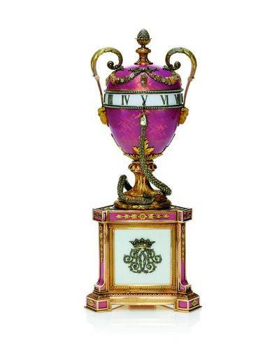 House of Fabergé, 'Duchess of Marlborough's Egg, workmaster Mikhail Perkhin', 1902