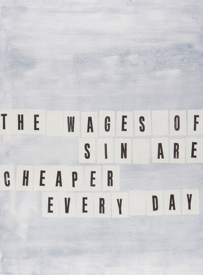 Todd Norsten, 'The Wages of Sin', 2016