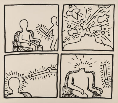 Keith Haring, 'The Blueprint Drawings (14)', 1990