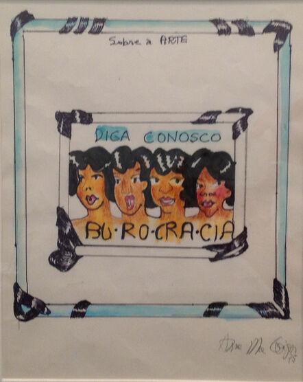 Anna Bella Geiger, 'Burocracia'