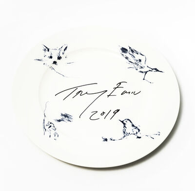 Tracey Emin, 'Docket And His Bird Collection', 2019