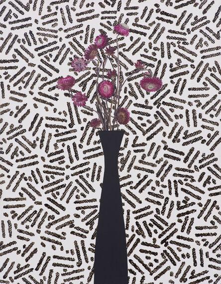 Jen Mazza, 'Pink Strawflowers/Security Pattern', 2015