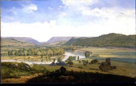 George Inness, 'Delaware Water Gap', 1857