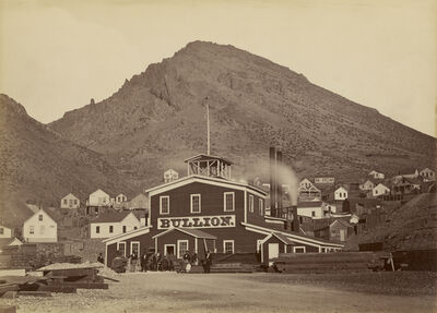 Carleton E. Watkins, 'The Bullion Mine, Virginia City, Nevada', 1875-1877