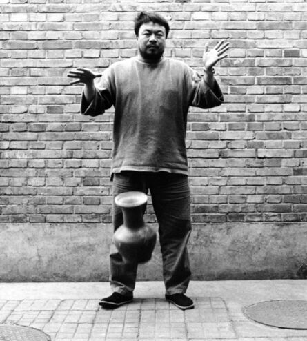 Ai Weiwei, 'Second panel of the triptych Dropping a Han Dynasty Urn', 1995
