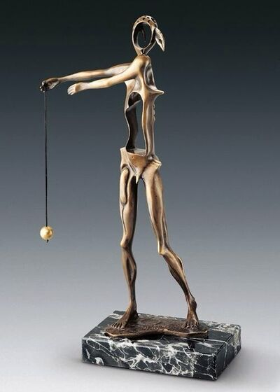 Salvador Dalí, 'Homage to Newton (Brown) ', 1980
