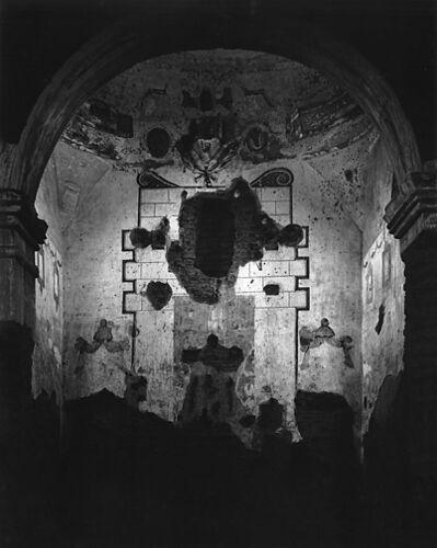 Ansel Adams, 'Interior of Tumacacori Mission, Arizona', Circa 1952-printed 1976