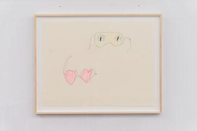 Emilie Gossiaux, 'Heart Glasses and Eye Shades ', 2018