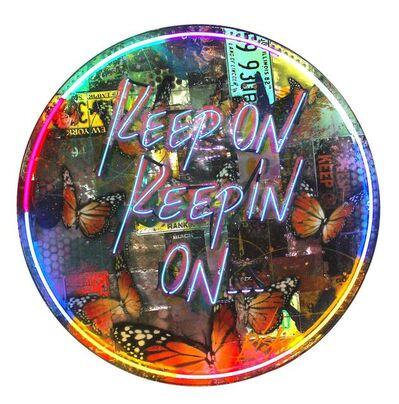 RISK, 'Keep On Keepin On Neon', 2021