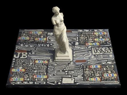Roland Sabatier, 'Place et Statue', 1988