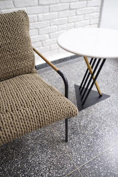 Felipe Protti, 'TREVO armchair - PLAY side table', 2016