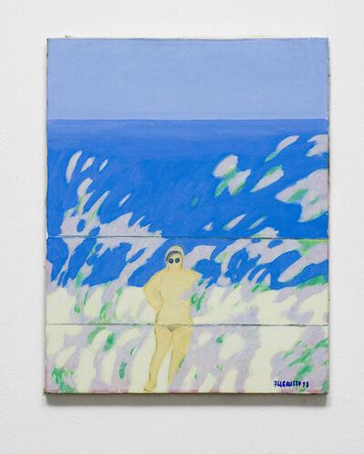 Santi Alleruzzo, 'Spiaggia e nudo', 1958