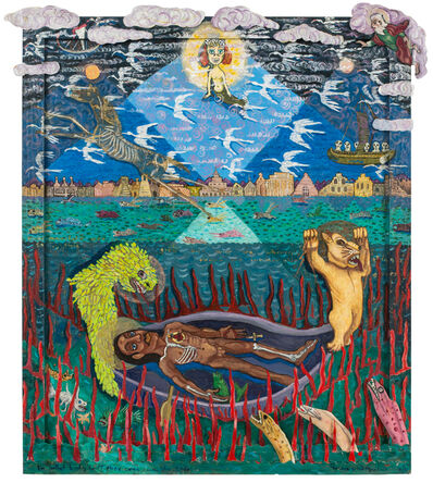 Maria Alquilar, 'And With What Body Do They Come II: El Marinero (The Sailor)', 1991