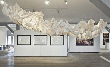 "Cecilie Bendixen, '""Draped Nimbostratus""', 2013"