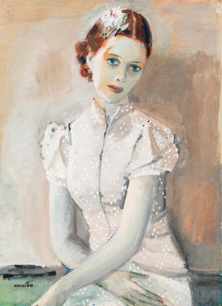 Rajmund Kanelba, 'Portrait of Mme. Mullard'