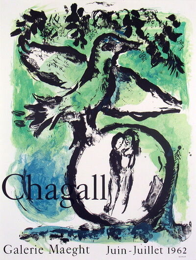 Marc Chagall, 'Oiseau Vert', 1962