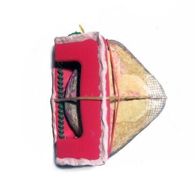 Adrian Montenegro, 'Falsa alarma de oficina con piedra excitadade por medio', 2014