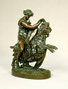 Philippe-Laurent Roland, 'Bacchante with a Goat', 1796-cast 1798