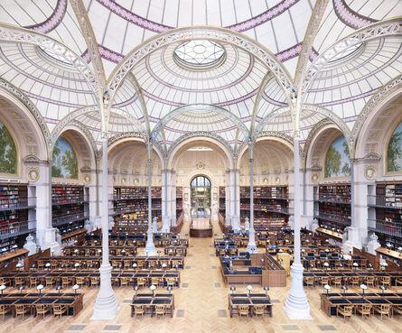 Candida Höfer, 'La Salle Labrouste - La Bibliothèque de l'INHA Paris II 2017', 2017