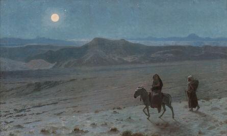 Jean-Léon Gérôme, 'The Flight into Egypt (Night)', 1897