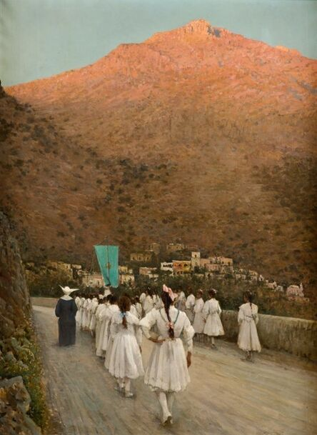 Vincenzo Caprile, 'First Holy communion at Positano'