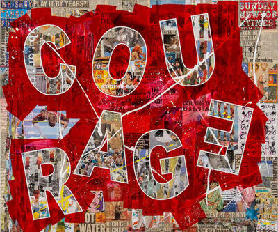 Peter Tunney, 'COURAGE', 2019