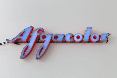 Flavio Favelli, 'Afgacolor', 2019