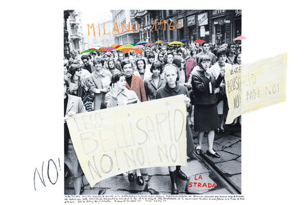 Marcelo Brodsky, 'From the series 1968: The fire of Ideas, Milano, 1966', 2014-2019