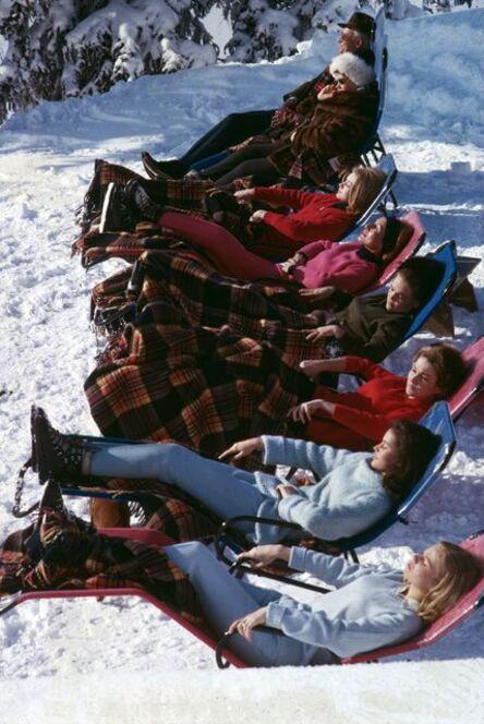 Slim Aarons, 'Winter Suntans', 1975