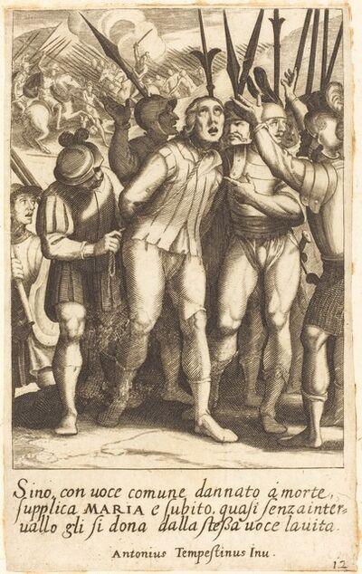 Jacques Callot after Antonio Tempesta, 'Sino', 1619