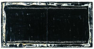 Joan Hernández Pijuan, 'Diptic Negre', 2004