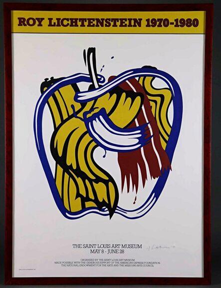 Roy Lichtenstein, 'Roy Lichtenstein 1970-1980 (Hand Signed and dated by Roy Lichtenstein)', 1981