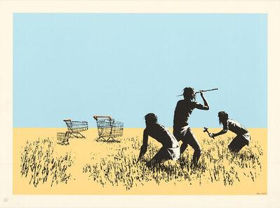 Banksy, 'Color Trolleys', 2009