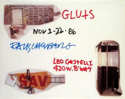 Robert Rauschenberg, 'Gluts', 1986