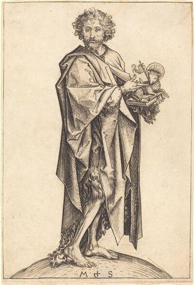 Martin Schongauer, 'Saint John the Baptist', ca. 1475