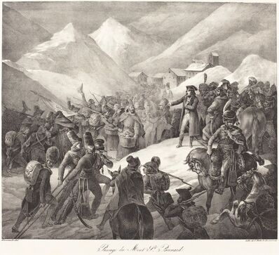 Théodore Géricault, 'Passage du Mont St. Bernard (Napoleon's Army Crossing the St. Bernard Pass)', 1822
