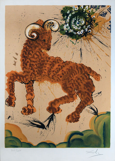 Salvador Dalí, 'Signs of the Zodiac: Aries', 1967