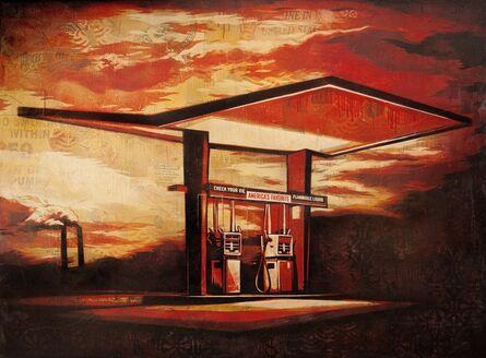 Shepard Fairey, 'America's Favorite Red', 2010
