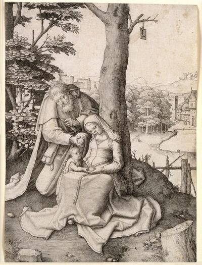 Lucas van Leyden, 'The Holy Family', 1507